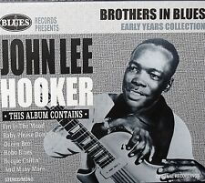John Lee Hooker NEW CD Brothers in Blues Early Collection,20 TRACKS BLUES MUSIC