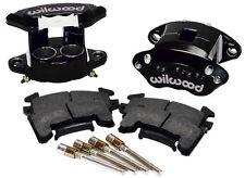 "WILWOOD D154 BRAKE CALIPER & HIGH PERFORMANCE E PAD SET,FRONT,2 PIS,1"",GM METRIC"