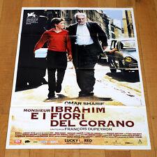 MONSIEUR IBRAHIM E I FIORI DEL CORANO manifesto poster Omar Sharif Dupeyron