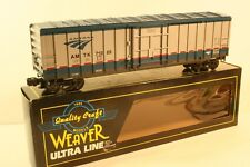 O Scale Quality Craft Weaver AMTRAK 50' PD Box Car Phase V New Old Stock