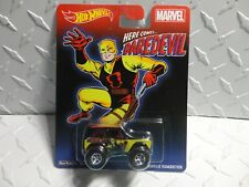 Hot Wheels Pop Culture Marvel Dare Devil '67 Ford Bronco Roadster w/Real Riders
