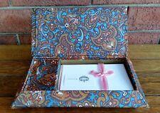 VINTAGE RETRO WRITING SET MUSICAL CASKET BOX WALDORF STATIONERY ENGLAND #05-8950