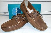 Ladies Orca Bay Bahamas Tan Waxy Leather Lace Up Deck Shoes