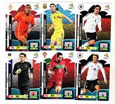 LOTE  36  CARDS   EURO  2012   ADRENALYN   (  DISTINTOS )