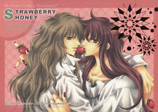 Saint Seiya Soft YAOI Doujinshi ( Milo x Camus ) Anthology, STRAWBERRY HONEY