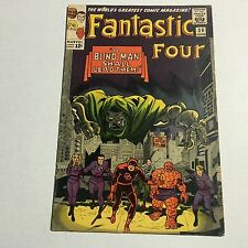 FANTASTIC FOUR #39 EArly Daredevil Crossover Marvel Silver Age Key Fine - F- #EE
