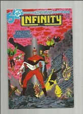 Infinity Inc. #20 1985 NM Crisis crossover Todd Mcfarlane (pages 1- 5) DC comics