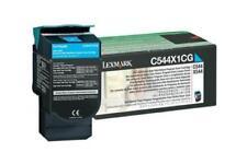 Lexmark C544X1CG Cyan Toner Cartridge GENUINE NEW SEALED BOX