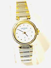 Vintage Pierre Bideaux Women's Quartz  Wrist Watch TwoTone N.O.S(20347M)