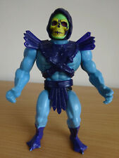 Vintage MOTU Skeletor Figure With Armour 1981 Soft Head Masters Of The Universe