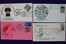 Oregon state fair philatelic souvenir cover 1973+ Oktoberfest Salem stamp club