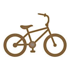 Láser de corte de MDF de Bicicleta Artesanía espacios en blanco en varios tamaños