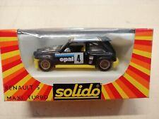 SOLIDO - Renault 5 Maxi  Turbo - Die-cast Metal - 1/43 - N°1353