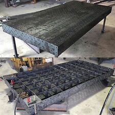 "Welding Fixture Chassis Table 60""x120"" : DXF File"
