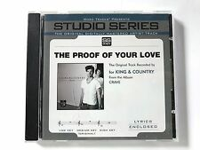 Studio Series - For King and Country - The proof of your love - accompaniment cd