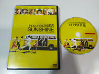 Pequeña Miss Sunshine Greg Kinnear Steve Carell DVD + Extras Español English