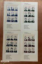 1986 US Stamps SC#2216-2219 22c President Set MNH/OG CV:$26