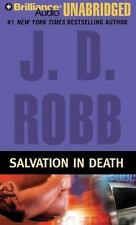 J D Robb Salvation in Death Eve Dallas CD Audiobook Susan Ericksen Nora Roberts