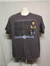 WWE Seth Rollins Redesign Rebuild Reclaim Adult Gray XL TShirt