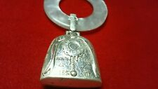 Vintage Webster Sterling Silver Baby Rattle Teething Ring*Birth Record*925