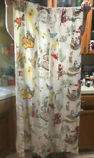Vintage Curtain Panel Peter Pan
