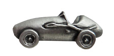 Mercedes 1930's Grand Prix Race Car Pewter Pin Badge