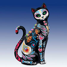 Purr-Fectly Sweet Sugar Skull Cat Figurine by Blake Jensen NEW