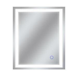 "Dyconn Faucet Edison Tri-Color Backlit Bathroom LED Mirror (30""W x 36""H)"