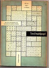 Der Druckspiegel Juli 1957 Archiv f deutsches & internat. grafisches Schaffen !
