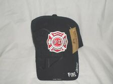 Rapid Dominance Military Clothing Fire Department Adjustable Hat Black Acrylic