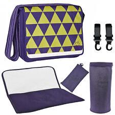 Lassig Changing Bag Casual Messenger Diaper - Purple