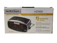 Hamilton Beach Commercial HCR400 Alarm Clock Radio MP3 Player LineIn AM/FM / NEW