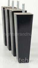 4x PIEDINI IN LEGNO ARREDAMENTO Legs 200mm per divani sedie armadi e letti M8 (8mm)