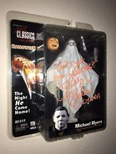 NECA Cult Classics Halloween Michael Myers Ghost Sheet Action Figure Autographed