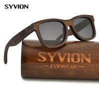 100% Handmade Natural Bamboo Sunglasses Polarised Engraving Wood Sunglasses