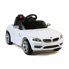 6V Electric Toy BMW Z4 Car Rc Kids Battery Powered Mp3 Toddler Ride On LED White