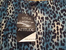 Attitudes by Renee 2XL NEW Animal Print Skirt  BNWT QVC