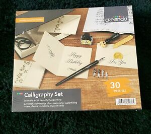 Crelando 30 Piece Caligraphy Set, Perfect Birthday Gift/present