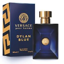 Versace DYLAN BLUE 3.4 oz / 100 ml Eau De Toilette EDT Spray, NEW, SEALED