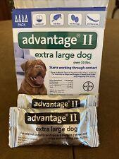 New listing Advantage Ii Extra Large Dog Over 55 Lbs 2pk- 2 mo Supply Flea & Lice Treatment