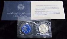 1972-S Eisenhower Silver Dollar * Uncirculated * 40% Silver * Original Packaging