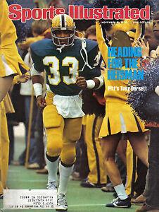 1976 11/8 Sports Illustrated football magazine Tony Dorsett, Pitt Panthers EX