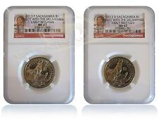 NGC MS67 2013 P&D Sacagawea Native American Dollar 2-Coin Set Early Releases
