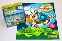 Panini ROAD TO FIFA WORLD CUP Brasil 2014 - DISPLAY BOX 50 Tüten packets + ALBUM