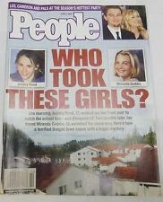 People Weekly Magazine Miranda Gaddis, Ashley Pond June 2002 020413R