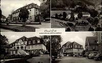 Bad Orb Spessart alte Postkarte Hessen 1961 Sanatorium Küppelsmühle Front Totale