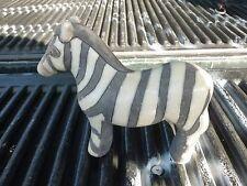 Fab 70'S Mid Century Terracotta African Zebra In The Italian Style