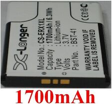 Batterie 1700mAh Pour SONY ERICSSON Xperia Play, Xperia TM X2