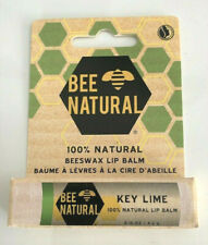 Bee Natural 100% Natural Lip Balm Beeswax 4,2 g - Key Lime