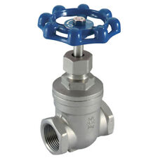 "316 STAINLESS STEEL VALVES - 1.1/4"" BSP 316 ST/STEEL GATE VALVE 7-01828"